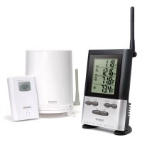 RGR126 Oregon Rain Gauge / Outdoor Temp 100m Wireless